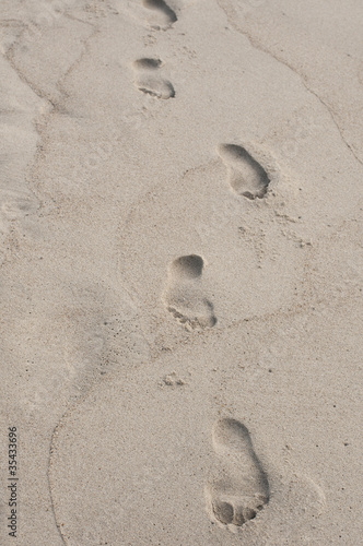Footstep background