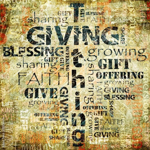 Giving and Tithing Background