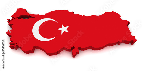 3D Map of Turkey