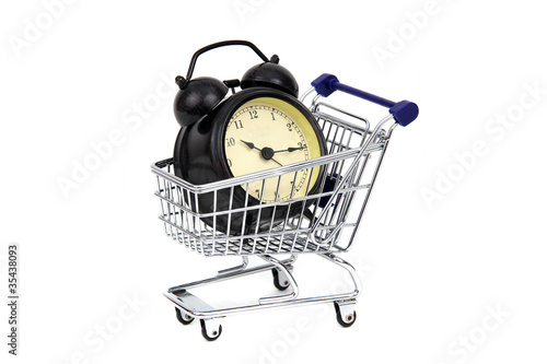 Leinwandbild Motiv Zeitkaufen