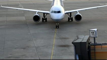 Parkplatz für Flugzeuge