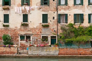 Vieille façade Venise
