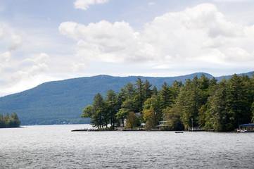 Lake Winnipesaukee in New Hampshire in the USA
