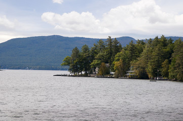 Lake Winnipesaukee in New Hampshire in the USA