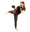 Karate Kicking
