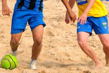 Zweikampf am Strand