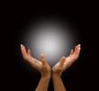 Healing Hands and ball of light
