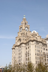 Liver Building and Clocktower