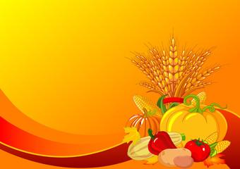 Thanksgiving / harvest background