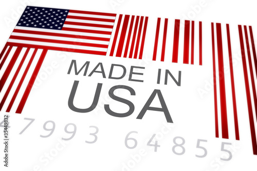 Product bar code of the US