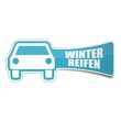 sticker auto winterreifen 1