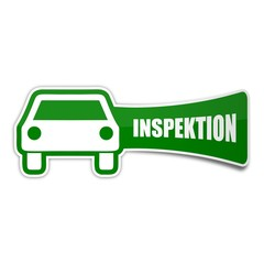sticker auto inspektion 1