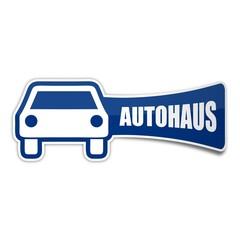 sticker auto autohaus 1