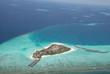 Fototapeten,korallenriff,riff,malediven,luftaufnahme