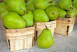 pears in boxes