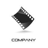Logo film strip, photographer # Vector