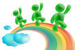 rainbow work