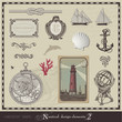 nautical design elements - set 2
