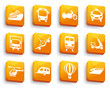 Transport icons on buttons