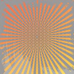 Halftone  rays