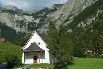 capella di Maria ad Engelberg nelle alpi svizzere