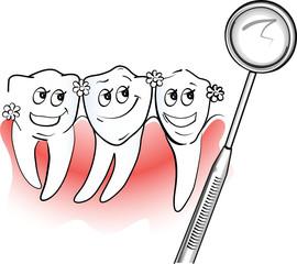 Gesund im Mund, Zähne kokettieren