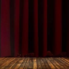 Sipario, palcoscenico, teatro