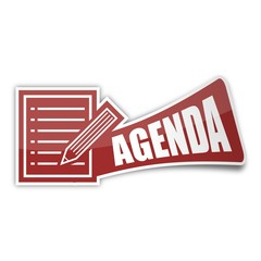 sticker papier-stift agenda 1