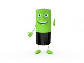 3d Rendering Batterie