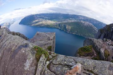 fjord landskape in Norway