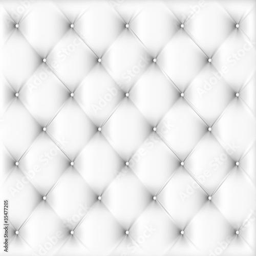illustration of white  leather upholstery
