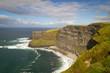 Idyllic view for Irish Cliffs of Moher