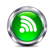 Signal connection Internet button Icon