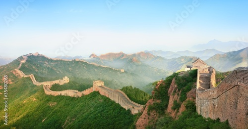 Deurstickers China Great Wall of China