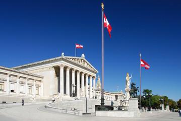 Parlamentsgebäude an der Wiener Ringstraße 497