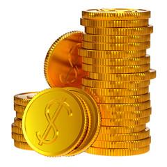 coins dollars money