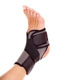 Trauma of ankle brace. poster