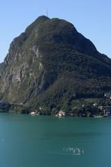 lago di Lugano e San Salvatore