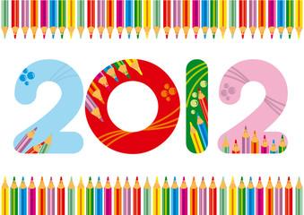 2012 colorato matite 3