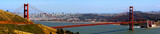 golden gate bridge und skyline - 35487807