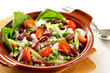 Bean & grains salad