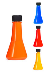 Multicolor plastic containers