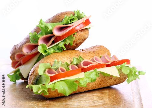 Fresh and tasty sandwich - 35489899