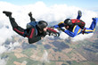 Two skydivers in freefall - 35491664