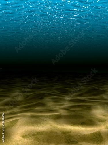 Leinwanddruck Bild Underwater scene