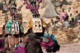 Fototapety Satibe mask and the Dogon dance, Mali.