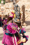 Mask and the Dogon dance, Mali.
