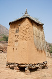Granary in a Dogon village, Mali (Africa).