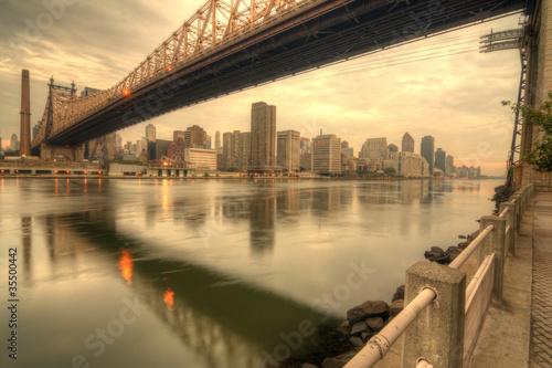 Fototapeten,new york,manhattan,brücke,new york city