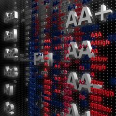 Rating Kredit Schulden